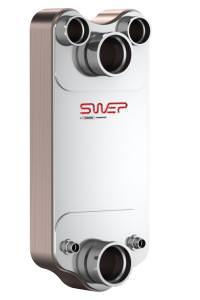 Паяный пластинчатый теплообменник SWEP DB700 Саров Кожухотрубный испаритель WTK SCE 393 Минеральные Воды