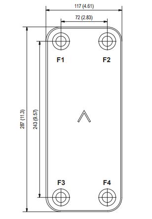 Пластины теплообменника Sondex SDN354 Владимир