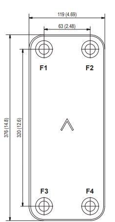 Паяный пластинчатый теплообменник SWEP AB16 Минеральные Воды Пластинчатый теплообменник Sondex S187 Шадринск