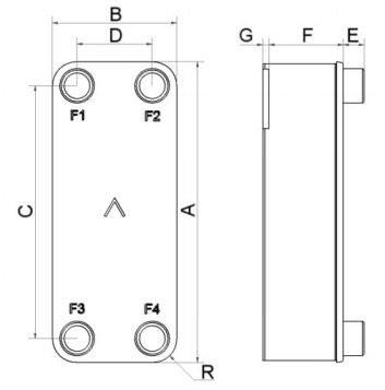 Теплообменник swep b12 Пластинчатый теплообменник Funke FPDW 80 Озёрск