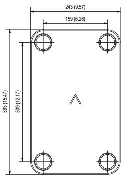 Паяный пластинчатый теплообменник SWEP B35TDW Минеральные Воды альфа лаваль россия в в excel
