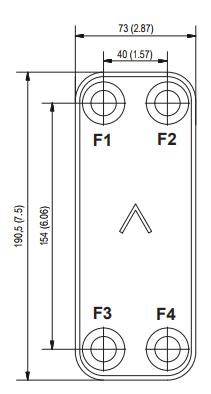 Паяный пластинчатый теплообменник SWEP E5P Минеральные Воды Кожухотрубный конденсатор ONDA C 32.301.2000 Минеральные Воды