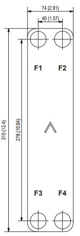 Паяный пластинчатый теплообменник SWEP E8AS Минеральные Воды Пластинчатый теплообменник Sigma M35 Новотроицк