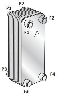 Паяный пластинчатый теплообменник SWEP VH400T Минеральные Воды Кожухотрубный испаритель ONDA LPE 360 Шадринск